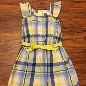 Girls Gymboree plaid dress